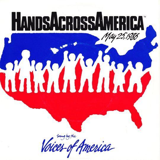 Coverafbeelding Voices Of America - Hands Across America