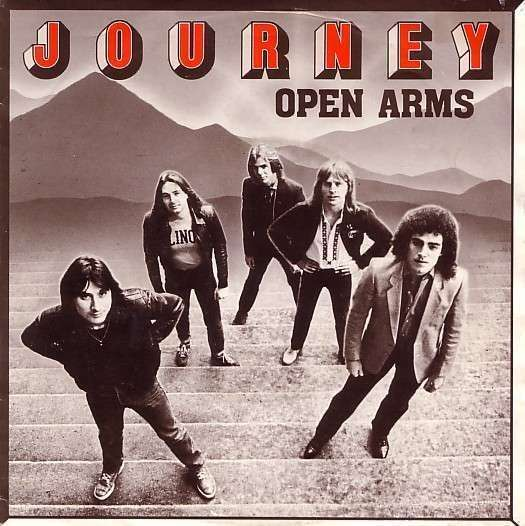 Coverafbeelding Open Arms - Journey