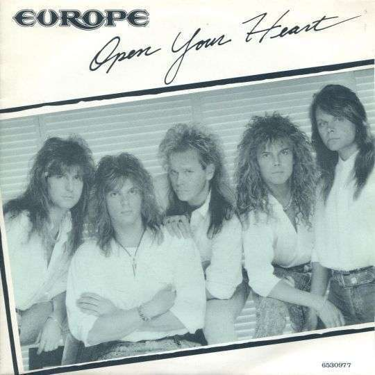 Coverafbeelding Open Your Heart - Europe