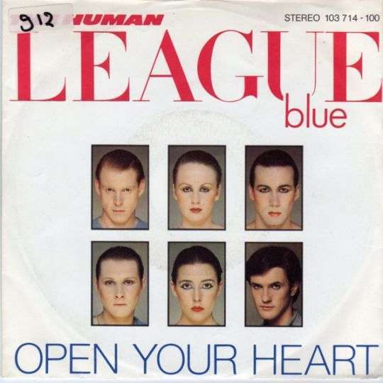 Coverafbeelding Open Your Heart - The Human League