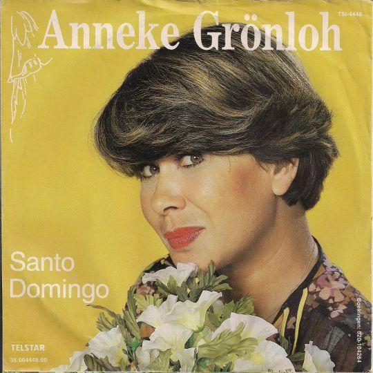 Coverafbeelding Santo Domingo - Anneke Gr�nloh