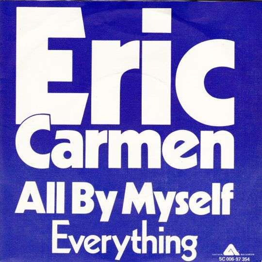 Coverafbeelding All By Myself - Eric Carmen