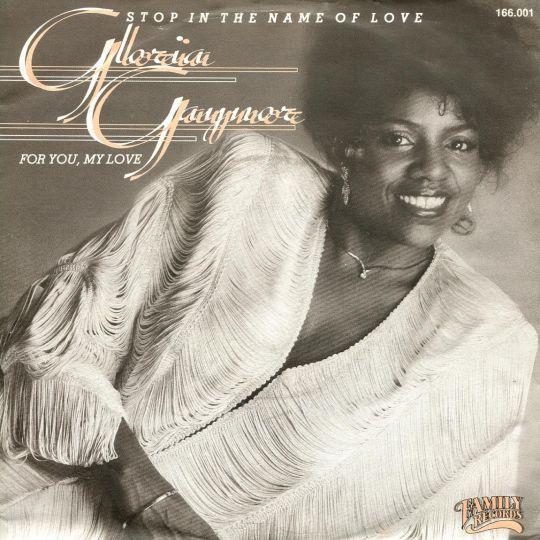 Coverafbeelding Stop In The Name Of Love - Gloria Gaynor