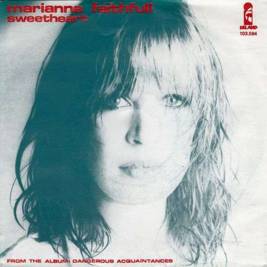 Coverafbeelding Sweetheart - Marianne Faithfull