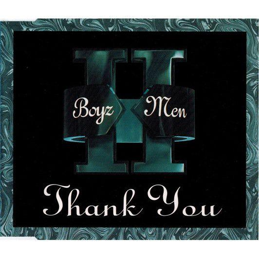 Coverafbeelding Thank You - Boyz Ii Men