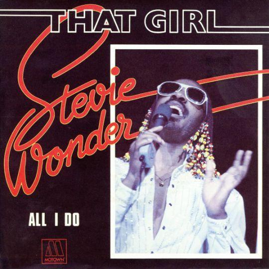 Coverafbeelding That Girl - Stevie Wonder