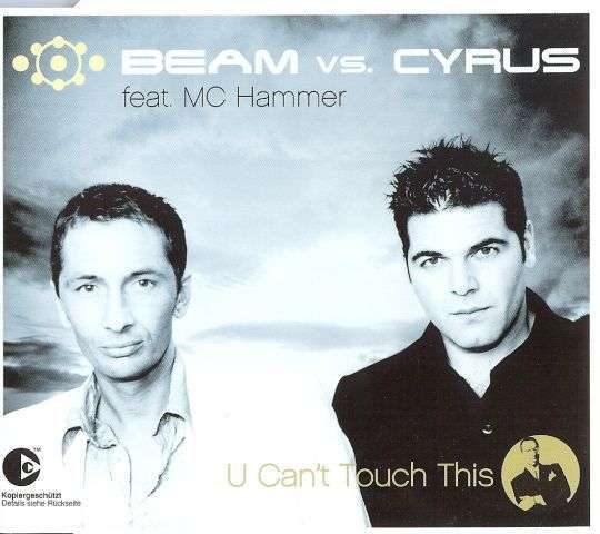 Coverafbeelding U Can't Touch This - Beam Vs. Cyrus Feat. Mc Hammer