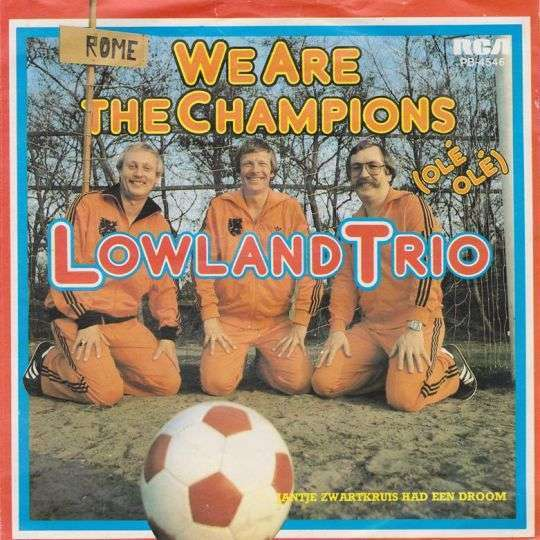 Coverafbeelding We Are The Champions (Olé Olé) - Lowland Trio