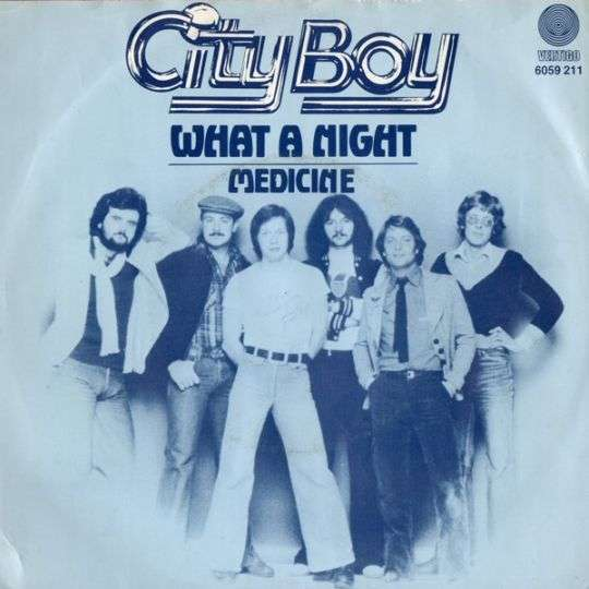 Coverafbeelding What A Night - City Boy