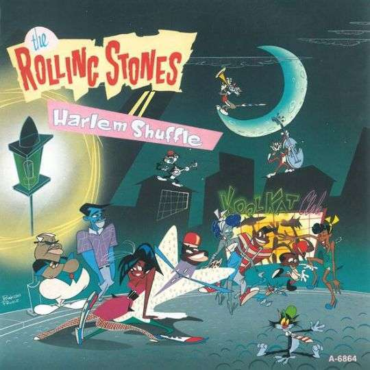 Coverafbeelding Harlem Shuffle - The Rolling Stones