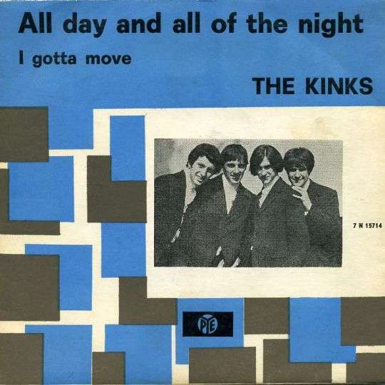 Coverafbeelding All Day And All Of The Night - The Kinks