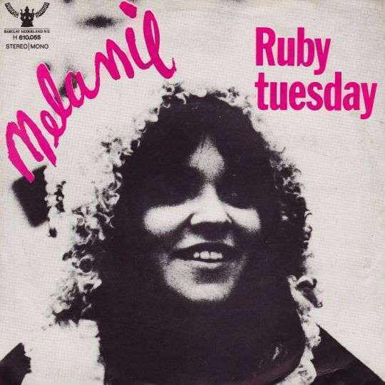 Coverafbeelding Melanie - Look What They Done To My Song/ Ruby Tuesday