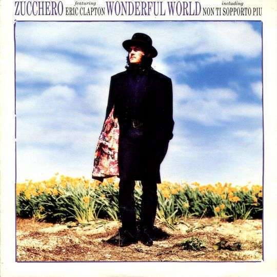 Coverafbeelding Zucchero featuring Eric Clapton - Wonderful World