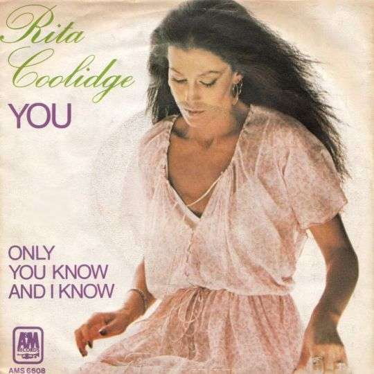 Coverafbeelding You - Rita Coolidge