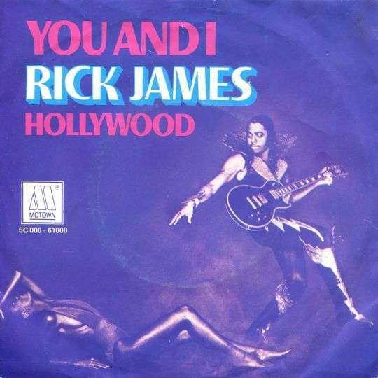 Coverafbeelding You And I - Rick James