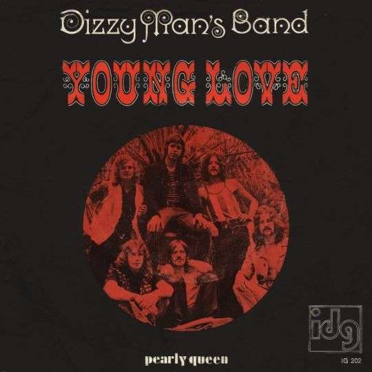 Coverafbeelding Dizzy Man's Band - Young Love/ Pearly Queen