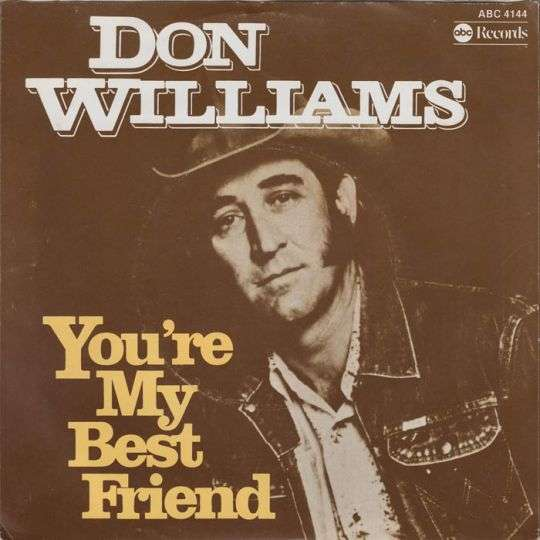 Coverafbeelding Don Williams - You're My Best Friend