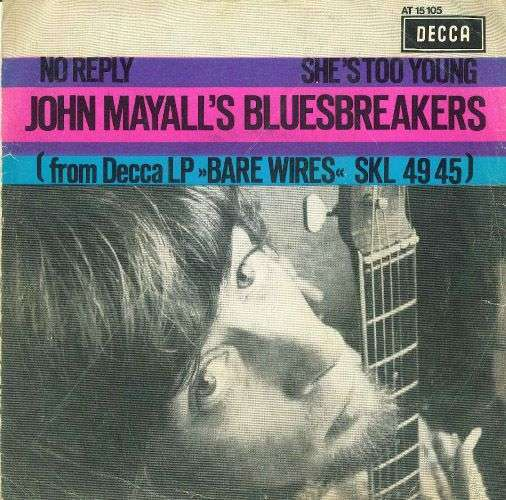 Coverafbeelding No Reply - John Mayall's Bluesbreakers