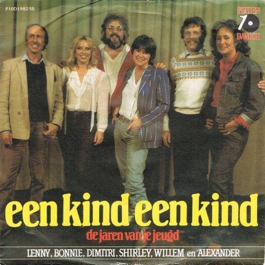 Coverafbeelding Een Kind Een Kind - Lenny, Bonnie, Dimitri, Shirley, Willem En Alexander