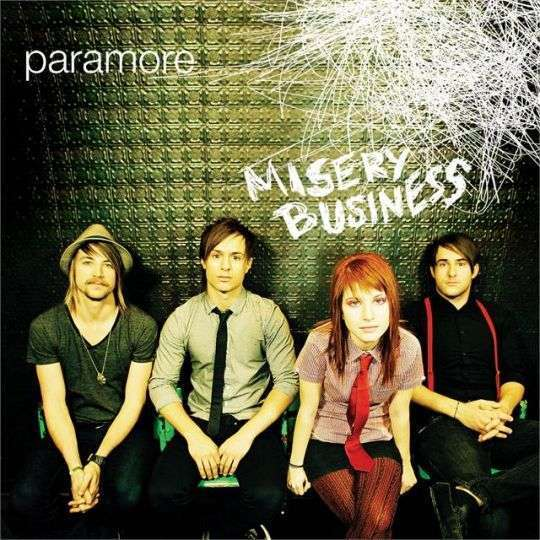 Coverafbeelding Misery Business - Paramore