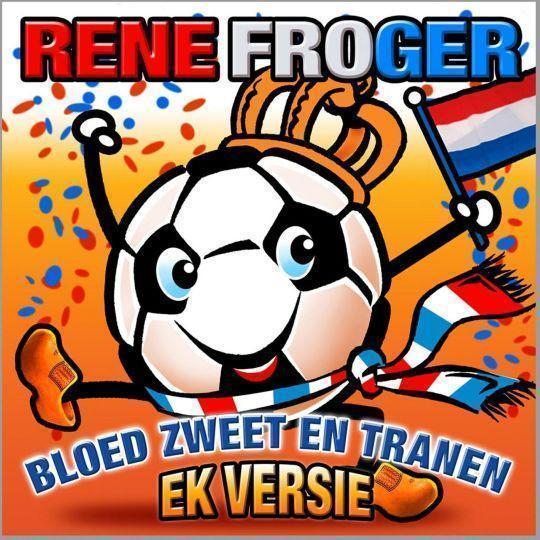 Coverafbeelding Bloed Zweet En Tranen - Ek Versie - Rene Froger
