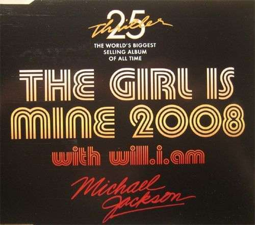 Coverafbeelding The Girl Is Mine 2008 - Michael Jackson With Will.i.am