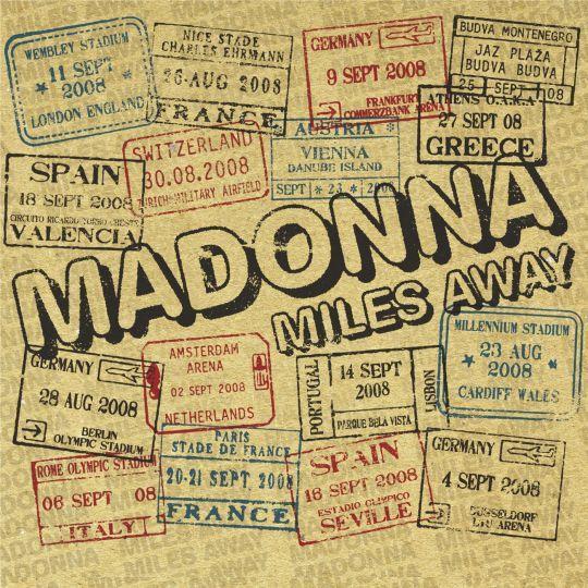 Coverafbeelding Miles Away - Madonna
