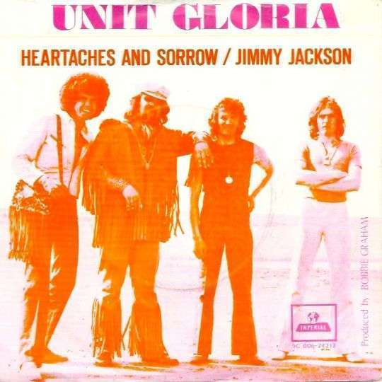Coverafbeelding Heartaches And Sorrow - Unit Gloria