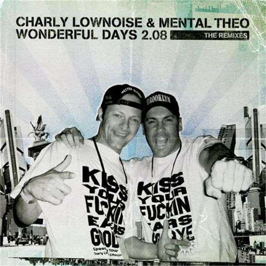 Coverafbeelding Charly Lownoise & Mental Theo - Wonderful days 2.08 - The Remixes