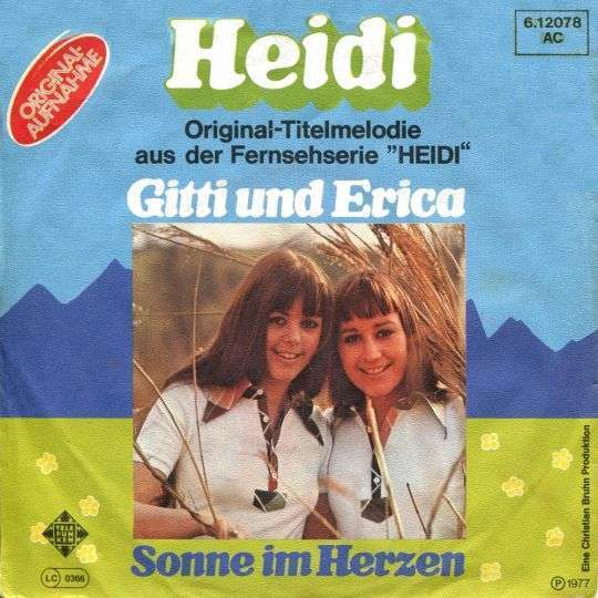 Coverafbeelding Gitti und Erica - Heidi