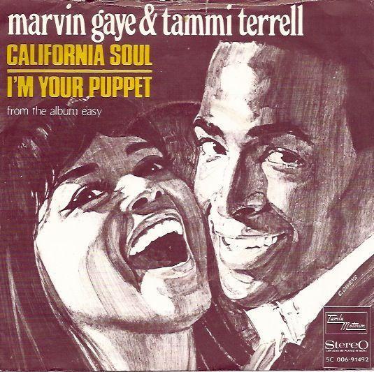 Coverafbeelding California Soul - Marvin Gaye & Tammi Terrell
