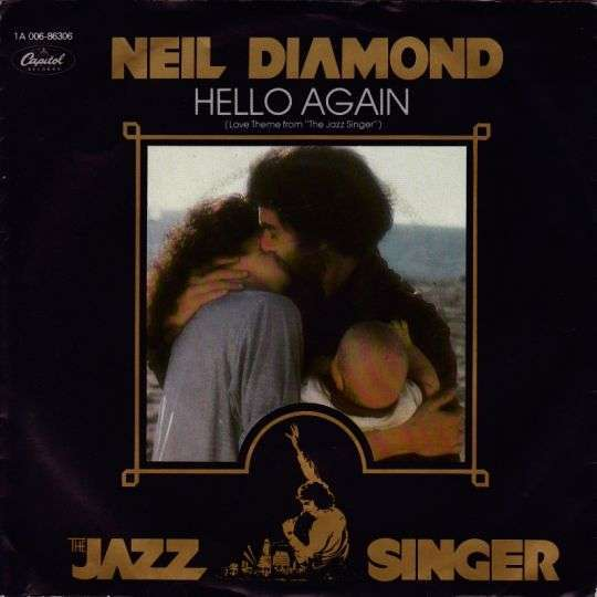 "Coverafbeelding Hello Again (Love Theme From ""the Jazz Singer"") - Neil Diamond"