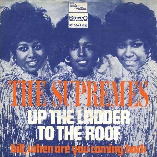 Coverafbeelding Up The Ladder To The Roof - The Supremes
