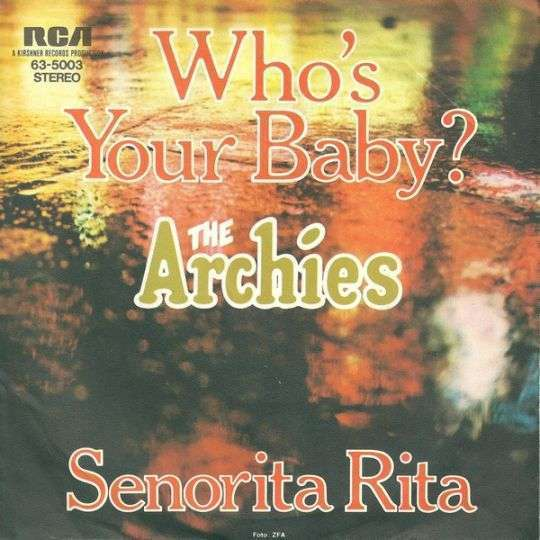 Coverafbeelding The Archies - Who's Your Baby?