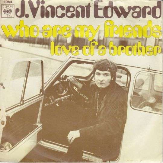 Coverafbeelding Who Are My Friends - J. Vincent Edward