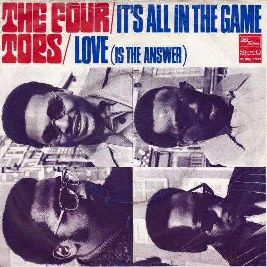 Coverafbeelding It's All In The Game - The Four Tops