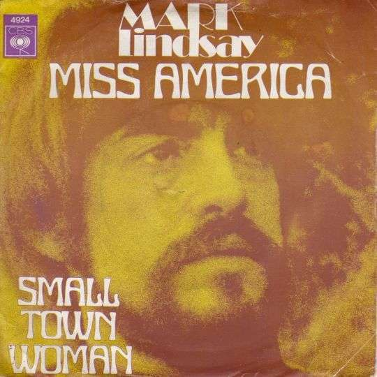 Coverafbeelding Mark Lindsay - Miss America