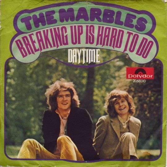 Coverafbeelding Breaking Up Is Hard To Do - The Marbles