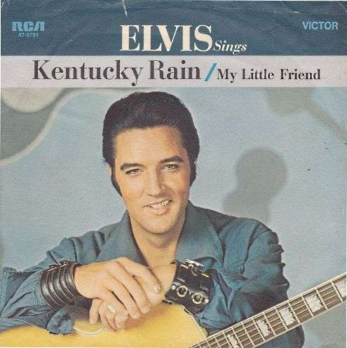 Coverafbeelding Kentucky Rain - Elvis