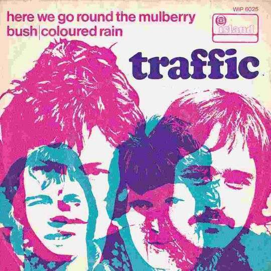 Coverafbeelding Here We Go Round The Mulberry Bush - Traffic