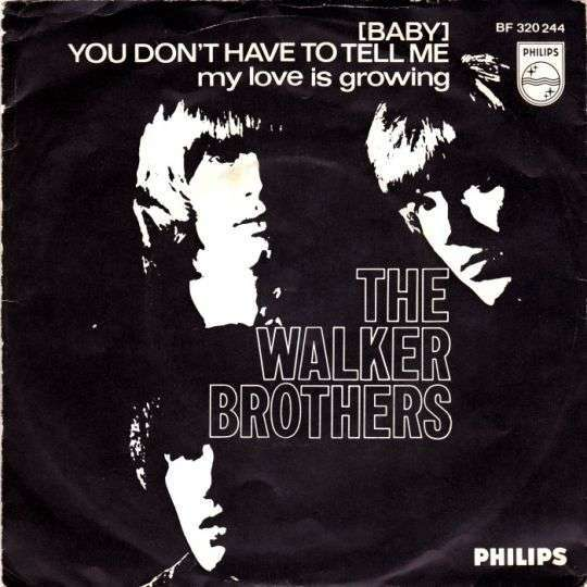 Coverafbeelding The Walker Brothers - (Baby) You Don't Have To Tell Me