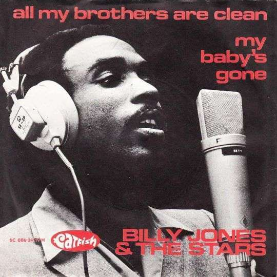 Coverafbeelding All My Brothers Are Clean - Billy Jones & The Stars