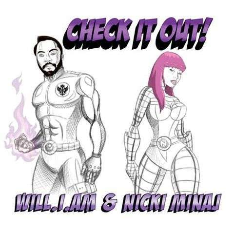 Coverafbeelding Check It Out! - Will.i.am & Nicki Minaj