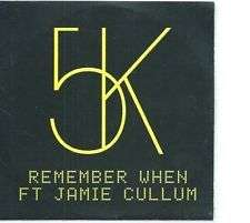 Coverafbeelding Remember When - 5k Ft Jamie Cullum
