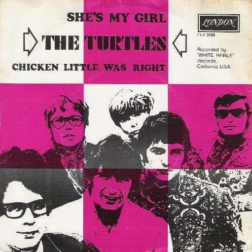 Coverafbeelding She's My Girl - The Turtles