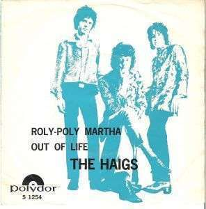 Coverafbeelding The Haigs - Roly-Poly Martha