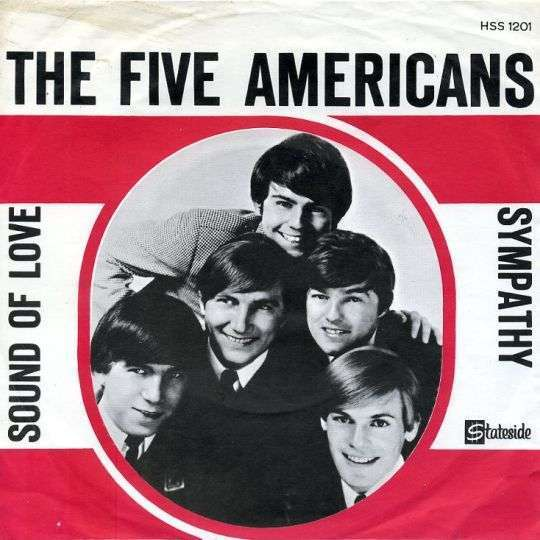 Coverafbeelding Sound Of Love - The Five Americans