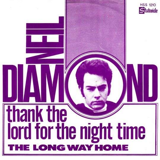 Coverafbeelding Thank The Lord For The Night Time - Neil Diamond