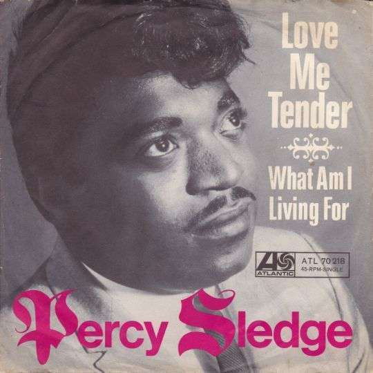 Coverafbeelding Love Me Tender - Percy Sledge