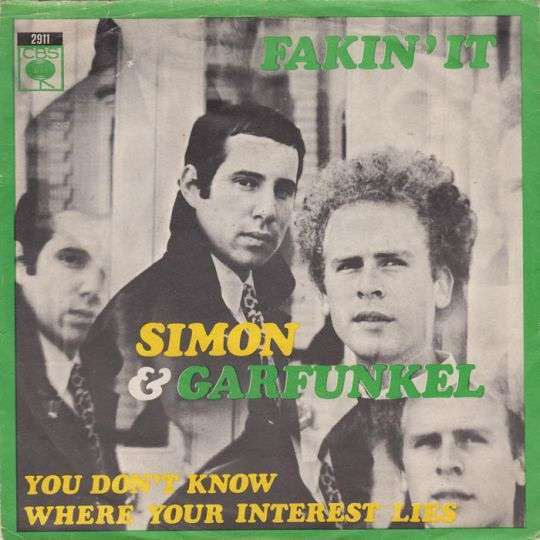 Coverafbeelding Fakin' It - Simon & Garfunkel